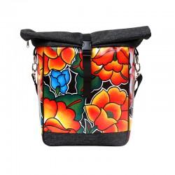 Einzeltasche Tehuana schwarz