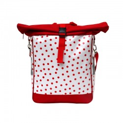 Einzeltasche Lunares rotweiss