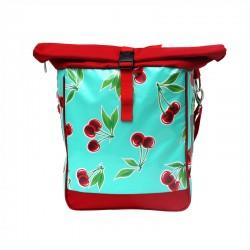 Einzeltasche Cerezas türkis