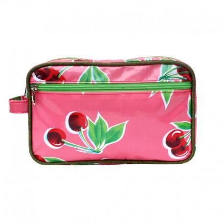 Kulturtasche Cerezas pink