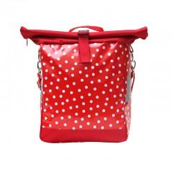 Einzeltasche Lunares rot