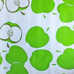 Wachstuch Meterware - Manzanas grün