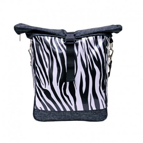 Einzeltasche Zebra