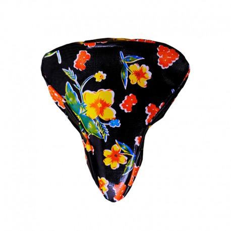 Sattelbezug Floral
