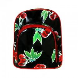 Kinderrucksack Cerezas schwarz