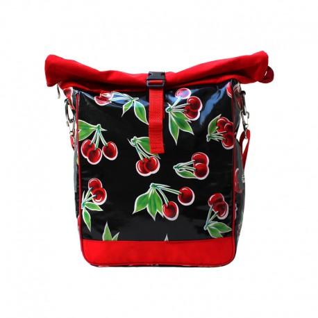 Cerezas schwarz Einzeltasche